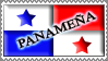 Panama Girl Stamp