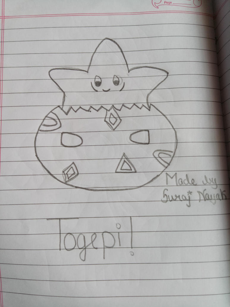 Togepi ! by thecrazysweetgirl