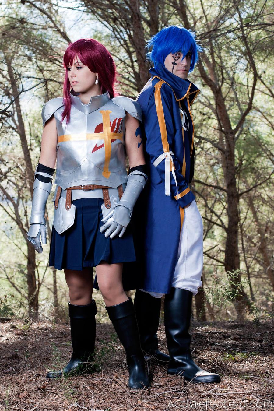 Erza Scarlett and Jellal Fernandez by Kuropun86 on DeviantArt