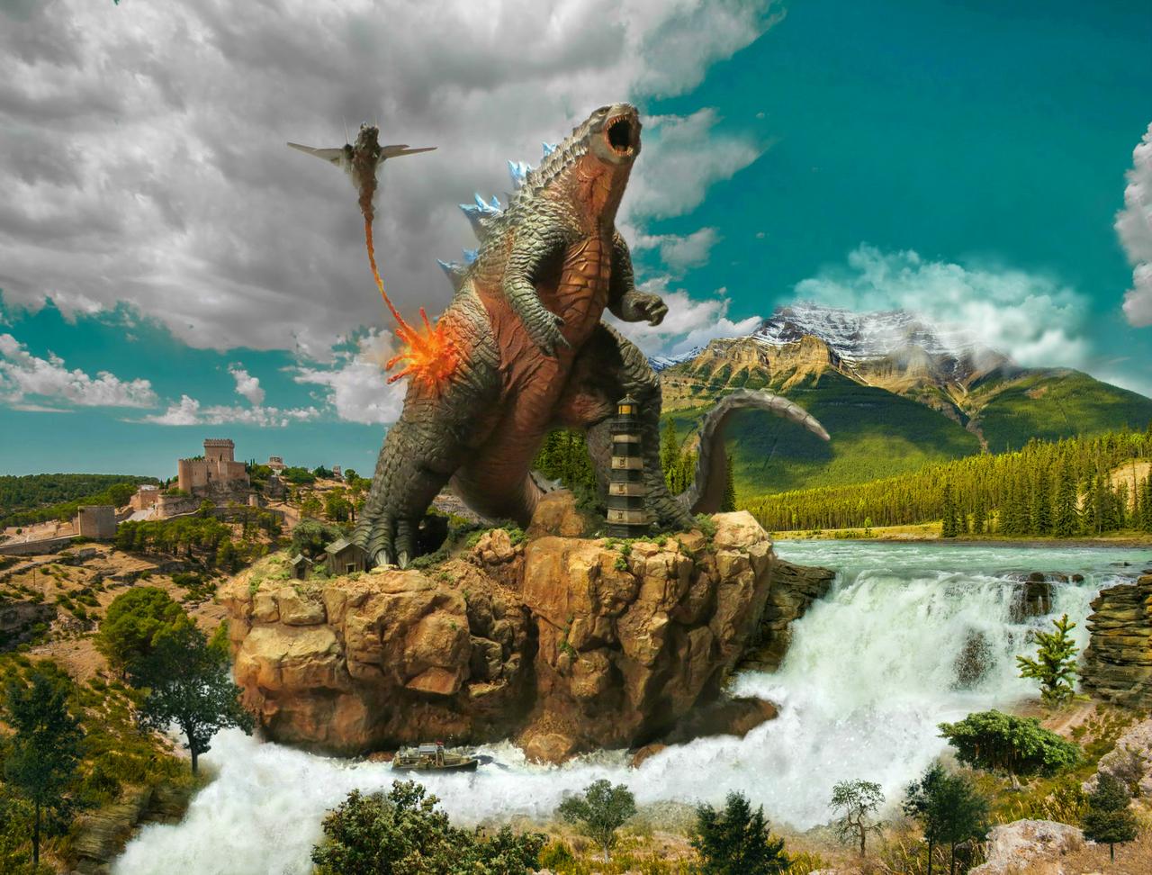 Godzilla 2014 by sarcophagus6