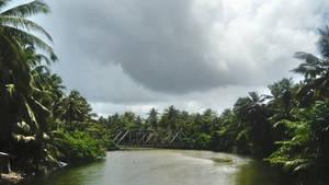 Bridge in Hikkaduwa, Sri Lanka