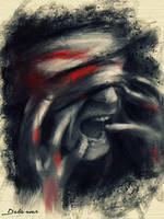 Scream from SYRIA by Delawer-Omar