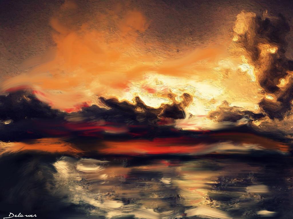 sun must shine by Delawer-Omar