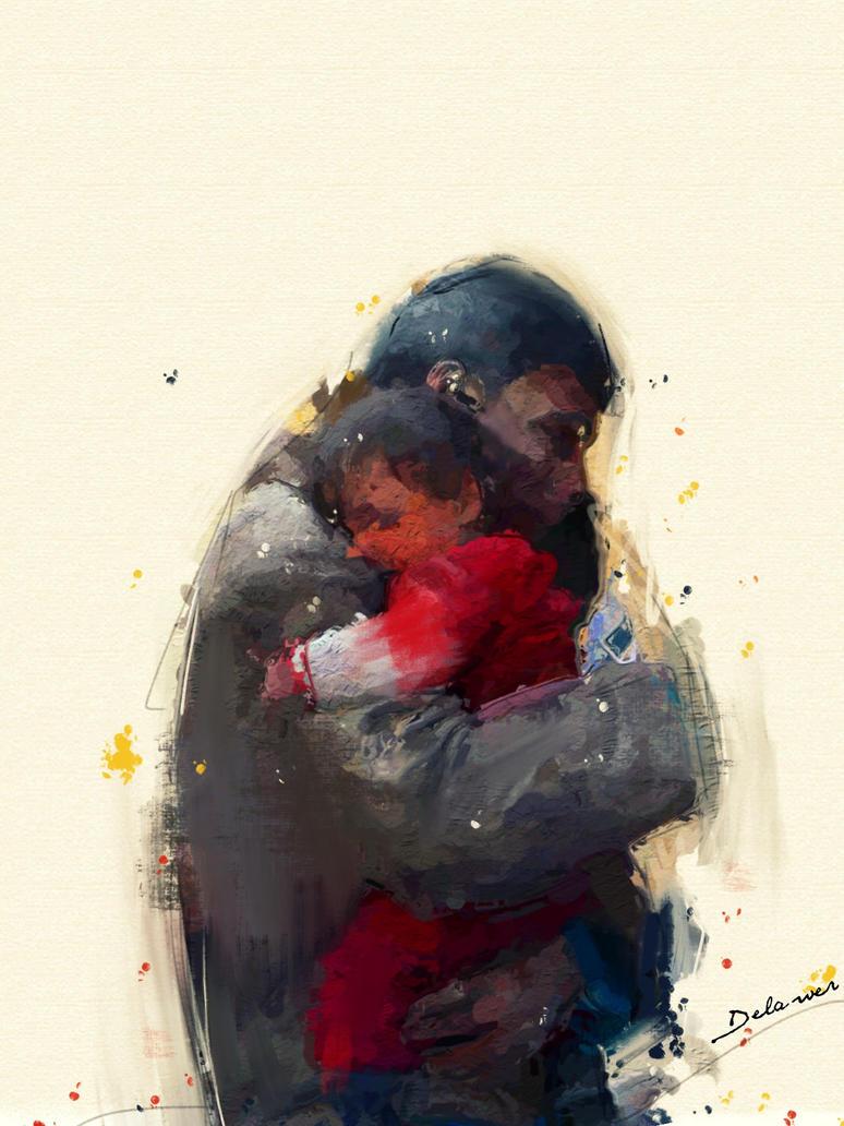 pain in homeland by Delawer-Omar