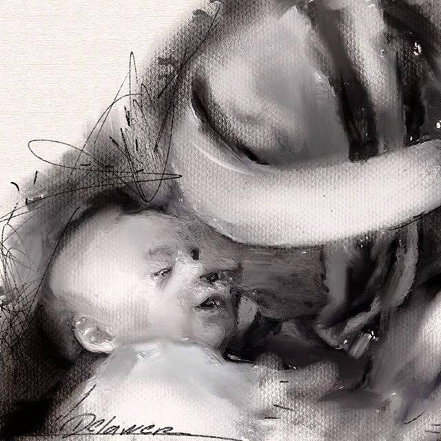 Sleep in peace my kid by Delawer-Omar