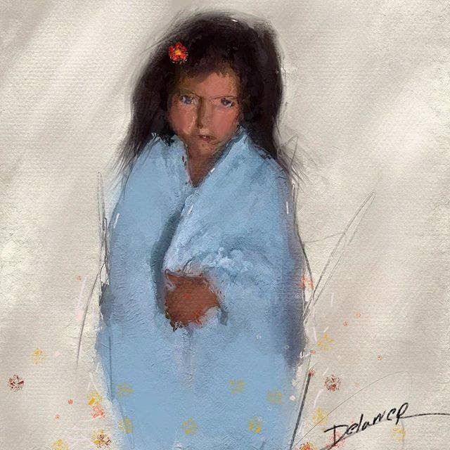 Lost princess by Delawer-Omar