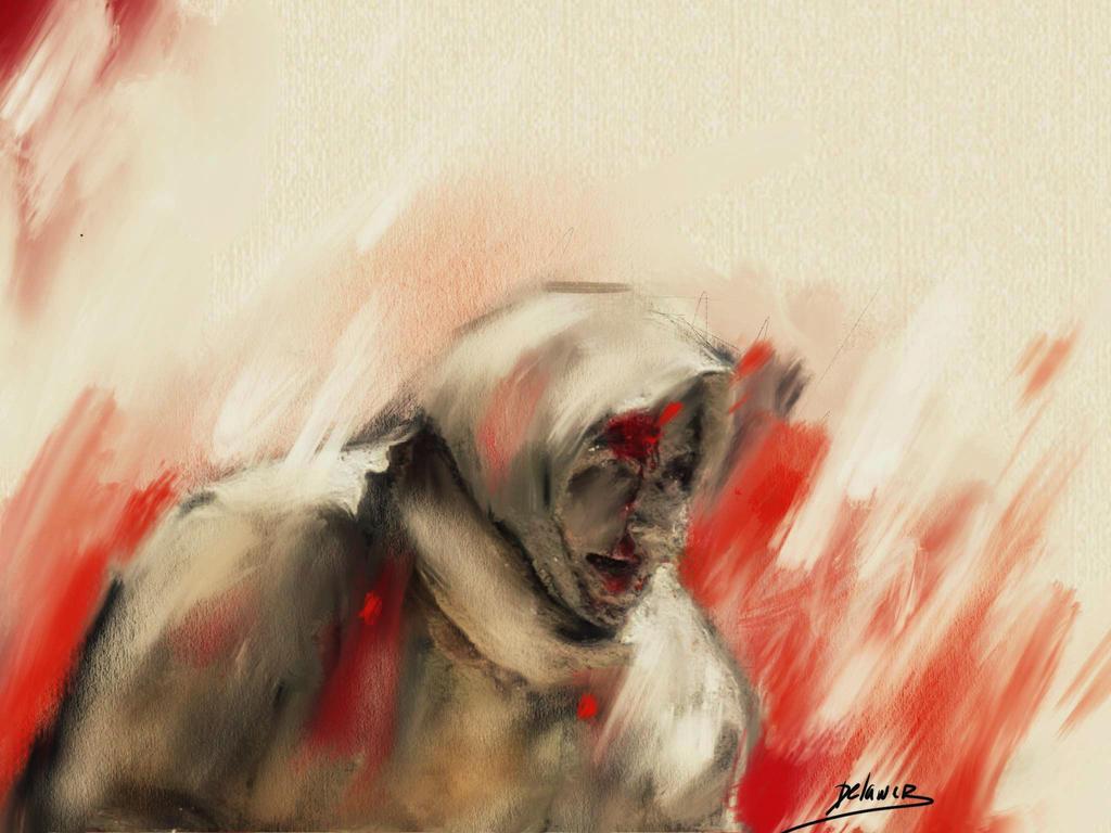 volcano of aleppo by Delawer-Omar