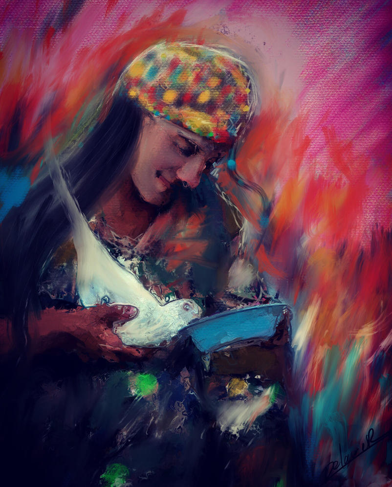 Kurdish woman  by Delawer-Omar