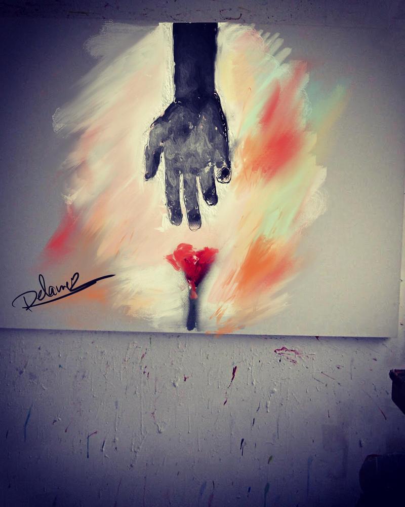 Catch my heart  by Delawer-Omar
