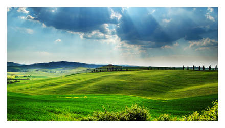 Val d'Orcia by LoRiBoX