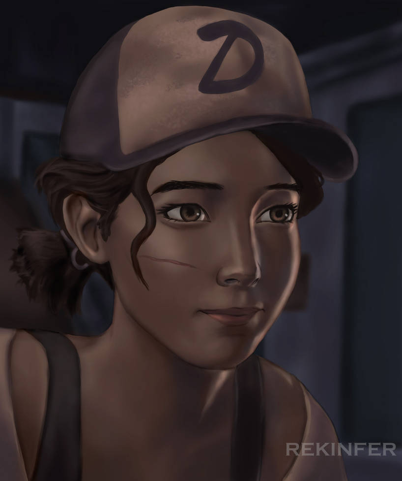 Pictures Of Clementine From The Walking Dead
