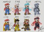 Mario Legends: Mario Power-ups