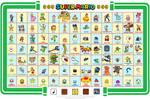 Mario Character Chart