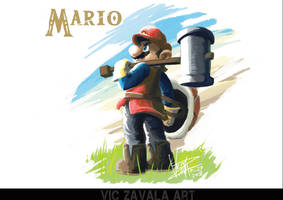 Mario: Breath of the Wild by ImaginatorVictor