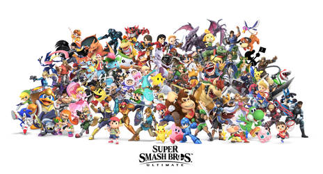 Super Smash Bros. Ultimate by ImaginatorVictor
