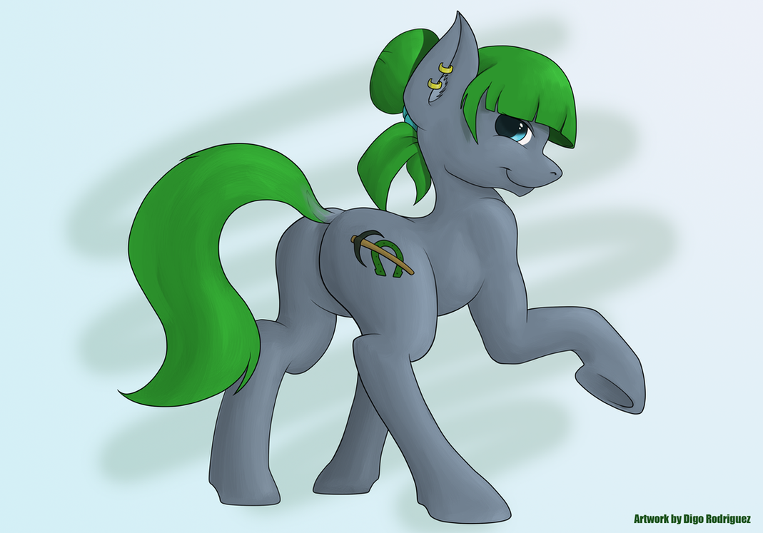 Emerald Miner by Digo by Digoraccoon