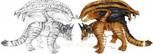 - tigra dracona - by raccoonlady
