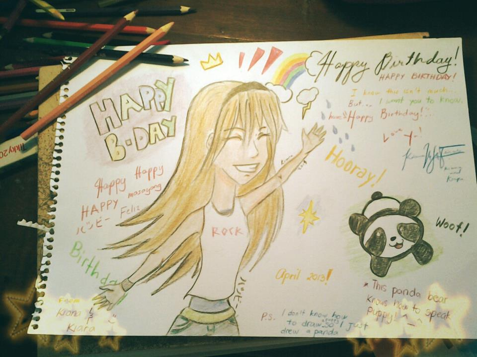 Happy Birthday Card To My Best Friend By Mekikatoka