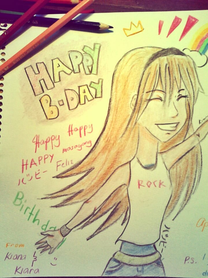 Happy Birthday Card to my best friend Part by mekikatoka on – Birthday Cards for Best Friend