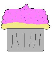 Cupcake for LusaGoesRawr by TheCupcakeNerd