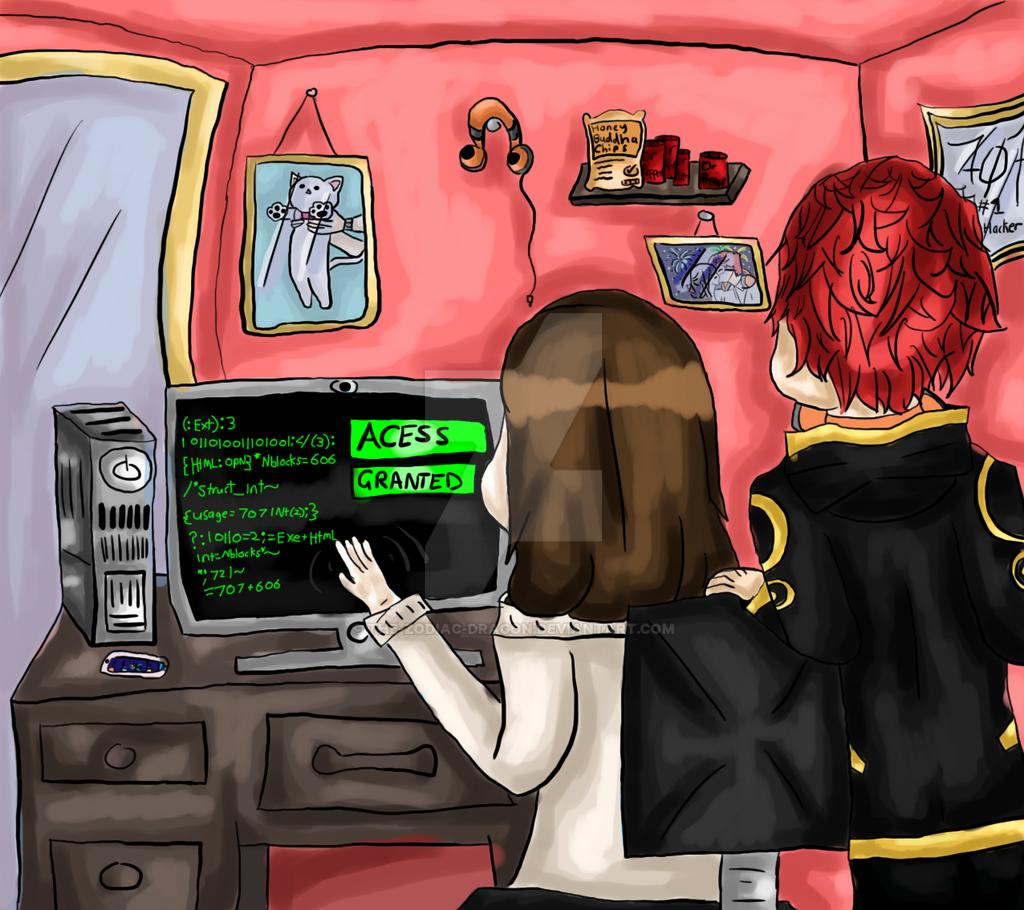 mystic messenger  hackerthezodiacdragon on deviantart