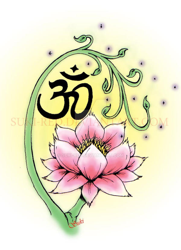 lotus and aum-tattoo by suki-red on DeviantArt