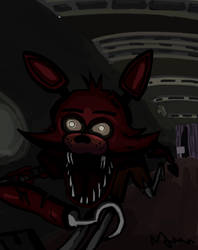 Five Nights At Freddy's: Foxy The Pirate by alexmorgaen
