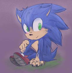 Sonic's design by 0Neonskinnyluo0