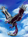 Yveltal pokemon by Winged-Fox-Lersy