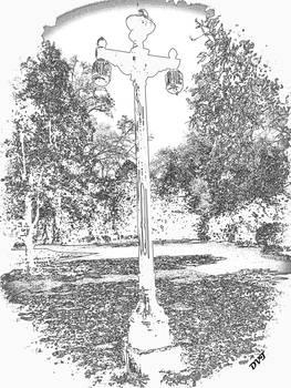 lamp post 953 sketch