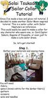 Sailor collar tutorial