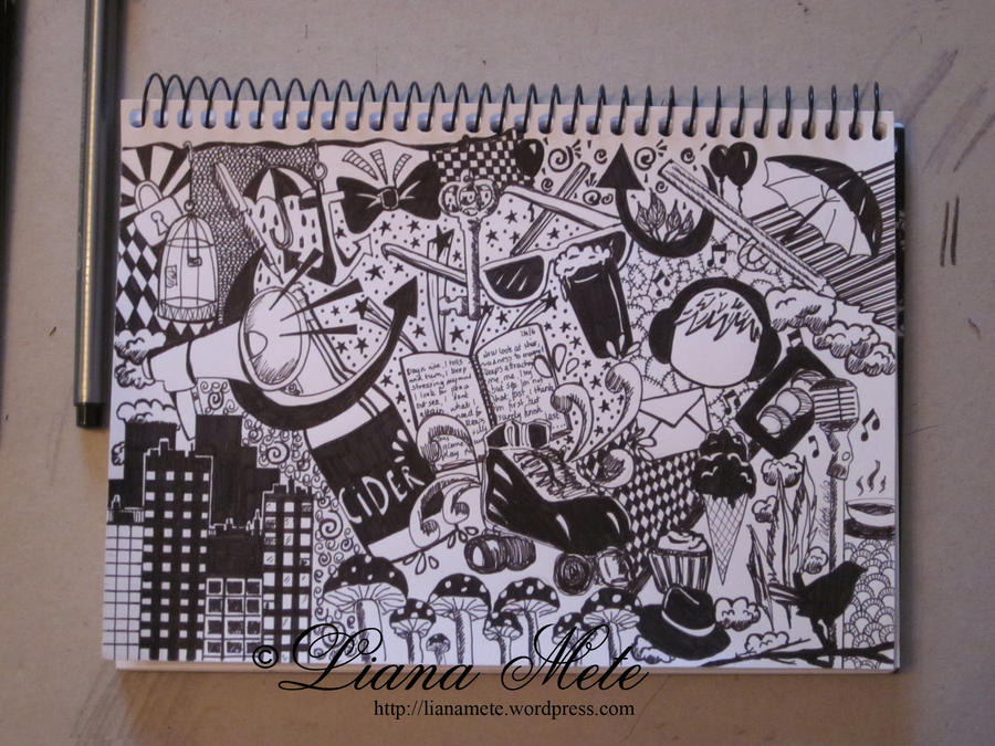 Black and white fun collage by lmete