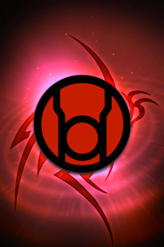 Red lantern corps symbol wallpaper - photo#27