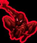 Red Lantern Spiderman