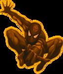 Orange Lantern Spiderman