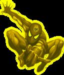 Sinestro Lantern Spiderman