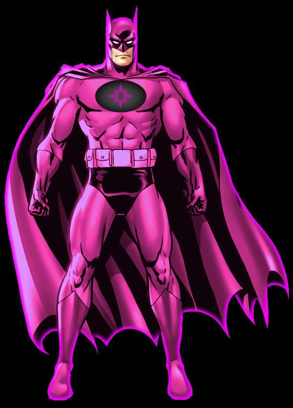 static pink batman - photo #49