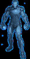 Blue Lantern Iron Man