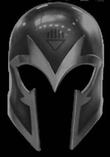 Black Lantern Magneto Helmet By KalEl7