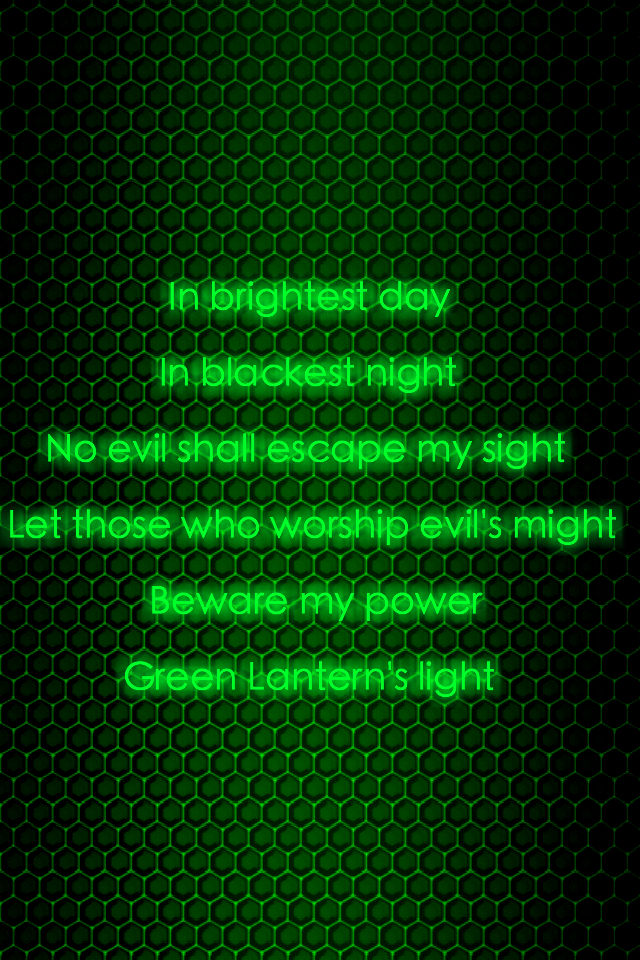 green lantern oath wallpaper - photo #27