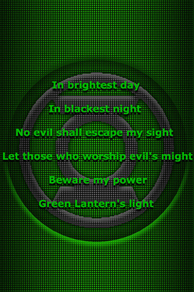 Green Lantern oath 3 by KalEl7 on DeviantArt