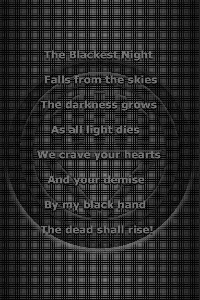 Black Lantern oath 3 by KalEl7 on DeviantArt