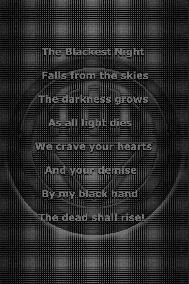 Black Lantern oath 3 by KalEl7 on DeviantArt