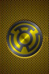 Metalic Sinestro Lantern