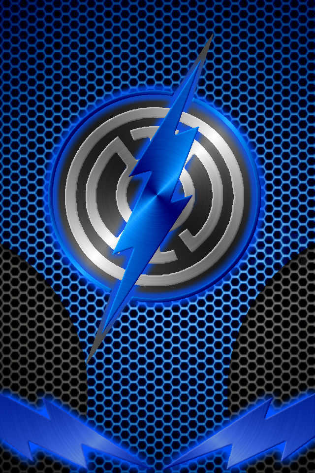 Blue Lantern Flash Wallpaper