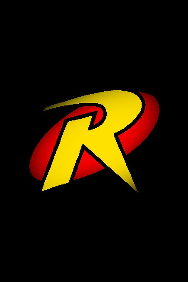 Robin logo background