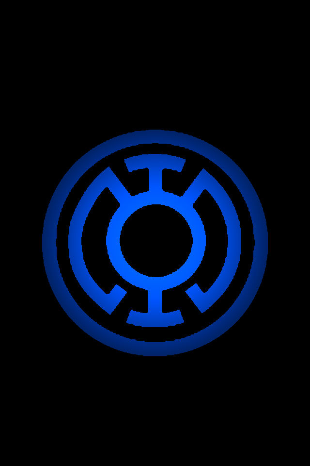 Blue Lantern Logo background by KalEl7 on DeviantArt