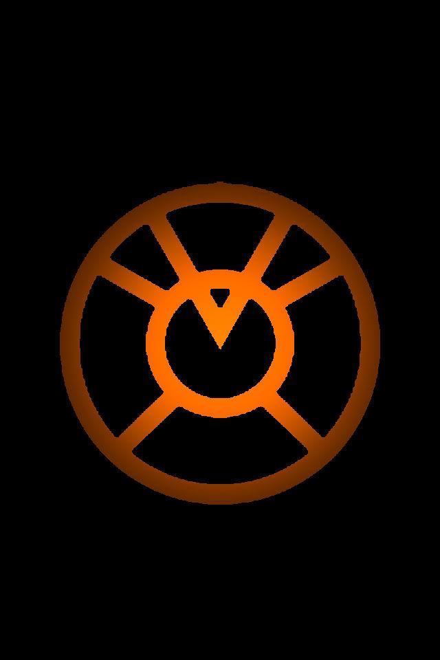 Orange Lantern Logo background