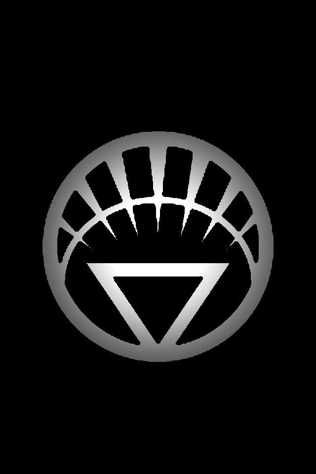 White Lantern Logo background