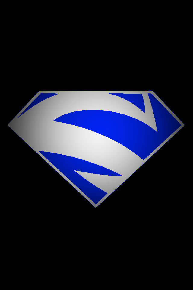 Superman Blue Logo by KalEl7 on DeviantArt